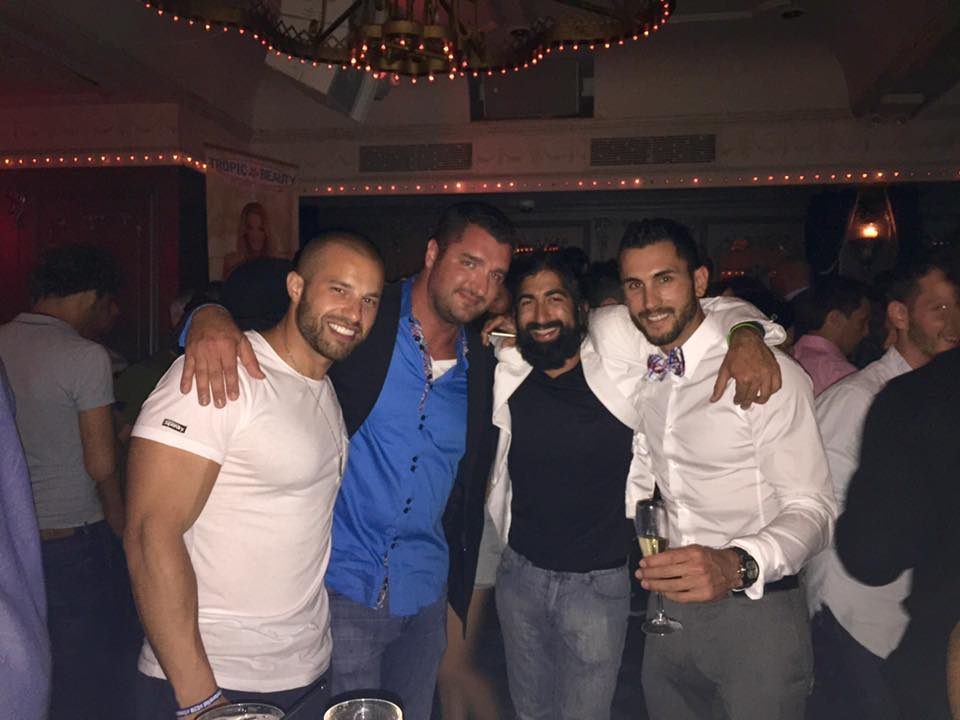 Tropic Beauties Party in New York, with Sean Falls, Sonny Palta, Anthony Navarini
