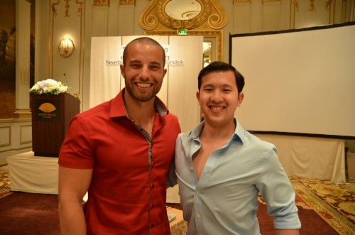 Myself and Charles Ngo